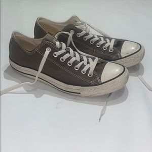 Gray Converse All Star sneakers size Men's 9